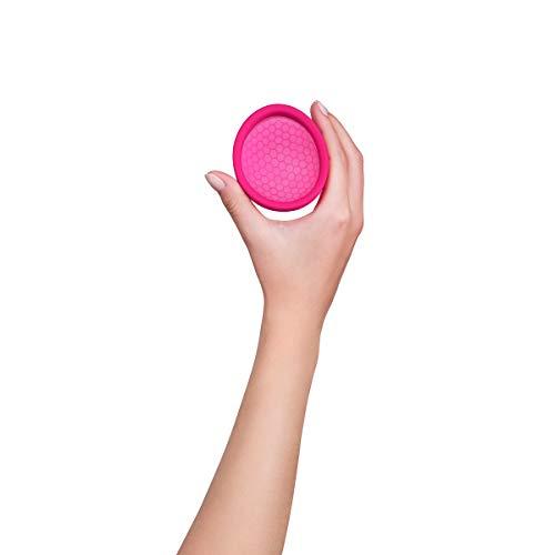 Intimina Ziggy Cup – Extra-dünne wiederverwendbare Menstruationstasse mit flacher Passform - 4