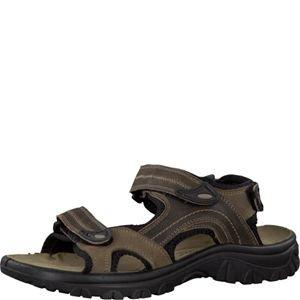 Marco tozzi 6616 sandales de randonnée pour homme en cuir marron Mocca Comb