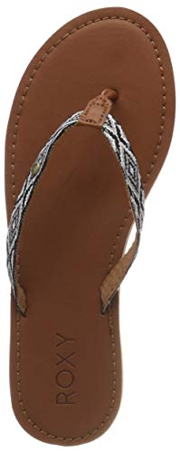 Roxy Janel, Zapatos Playa Piscina Mujer, Negro Black
