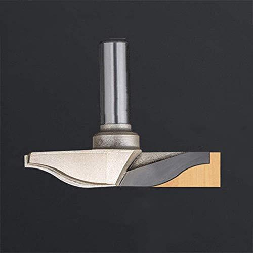 CROWNXZQ Holzbearbeitungsmesser, 1/2-Griff-Trimmmaschine, Graviermaschine, Türmesser, geeignet für mitteldichte Faserplatten, Massivholz, Kork, Spanplatten, Sperrholz