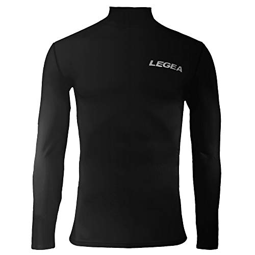 Legea lfm62, abbigliamento sportivo unisex adulto, nero, xl