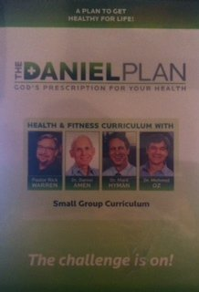 { THE DANIEL PLAN: 40 DAYS TO A HEALTHIER LIFE - IPS } By Warren, Rick ( Author ) [ Dec - 2013 ] [ DVD ] - Warren Rick Dvd