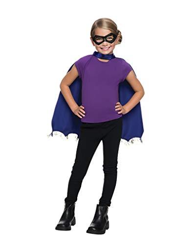 Horror-Shop Batgirl Maske & Cape Set One Size