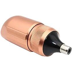 Tattoo Pen Rocket Augenbrauenstift Tattoo Pen Wasserdichter Entfernungsstift (Color : Rose-gold)