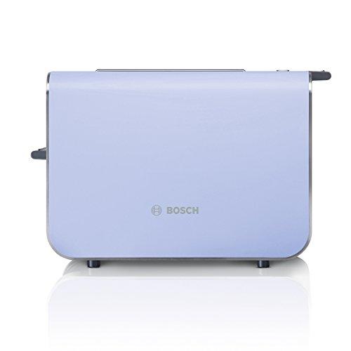 Bosch TAT8619 Kompakt-Toaster, 860 W, French lilac/ schwarz-grau
