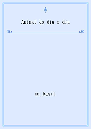 Descargar Libro Animal do día a día (Galician Edition) de mr basil