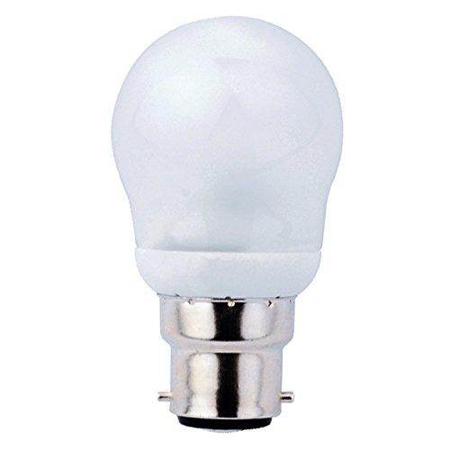7W Kerze oder Golf Form BC (B22) Bajonettsockel Energiesparlampe CFL