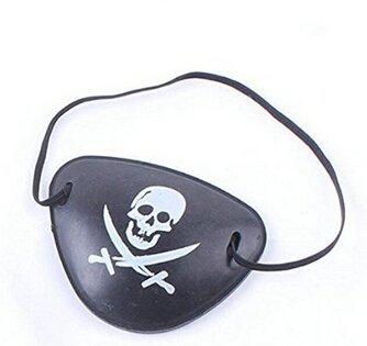 Edealing 8PCS Pirate pansements oculaires fête d'anniversaire de Toy Favors