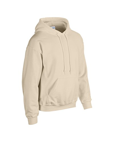 Gildan Erwachsene Sweatshirt mit Kapuze M sand