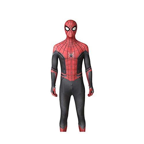 Strumpfhose Spiderman Halloween 3d Print Cartoon Charakter Kostüm Cosplay Bodysuit Serie Film Cosplay Kinderkleid,XXXL (Cartoon Charakter Kostüm)