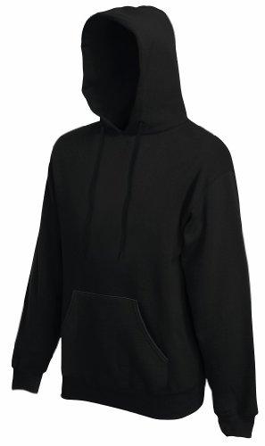 sweatshirt-hooded-sweat-fruit-of-the-loom-schwarzl
