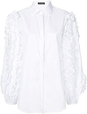 Dolce E Gabbana Camicia Donna F5I27TFU5GKW0800 Cotone Bianco