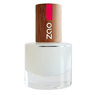 ZAO 637 Nail Top Coat Matt with Bamboo Container and Cover Certified Natural Cosmetics