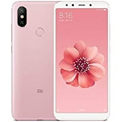 "Xiaomi Mi A2 - Smartphone de 5.99"" (Memoria de 64 GB, cámara Dual de 12+20 MP, Android One) Color Oro Rosa"