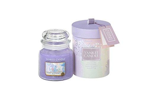 Yankee Candle Geschenkset mit 1 Glas, verschiedene Farben, 11 x 11 x 14,5 cm -
