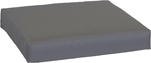 Beo LKP 80x60PY202 - Cojín para sofá 80 x 60 cm, con Cremallera y Tela Impermeable, Color Gris