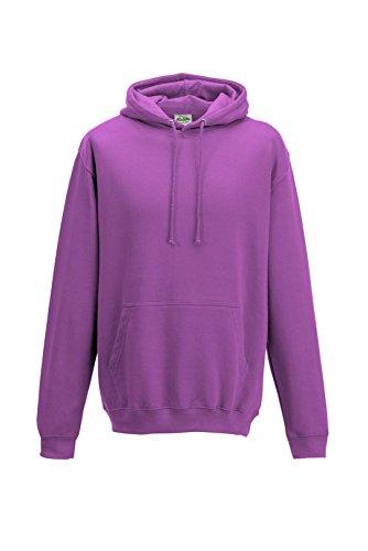 Just Hoods College - Felpa - Pinky Purple