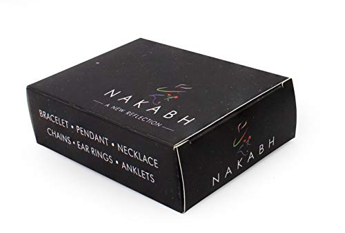 Nakabh Elegant Statement Chain for Men and Boys (Silver)