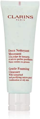 Clarins Gentle Foaming Cleanser With Tamarind and Purifying Micro Pearls for Unisex - 4.4 oz Foami