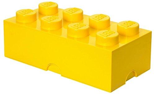 Lego Storage Brick 8 Large Yellow