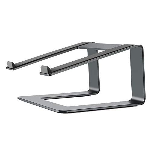 Preisvergleich Produktbild NENGGE Aluminium Laptopständer,  Passend Für Apple MacBook,  MacBook Pro,  MacBook Air und Alle 10 Zoll Bis 17 Zoll Notebooks (Schwarz), Schwarz