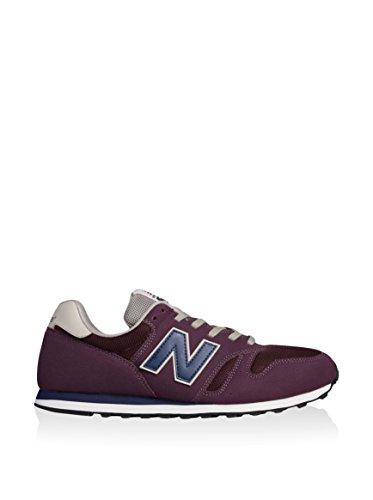 New Balance ML373 D, Herren Sneaker grey-red