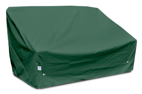 KoverRoos Weathermax 69550 Deep Highback Loveseat/Sofa Cover, 60-Inch Width by 35-Inch Diameter by 35-Inch Height, Forest Green