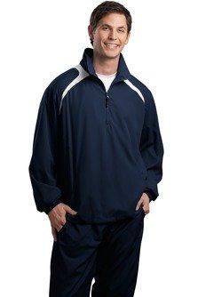 HIPI GOX Sport-Tek Men's 1/2 Zip Wind Shirt