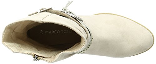 Marco Tozzi 25316, Bottes Motardes Femme Beige (Dune Comb 435)