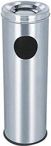 """SATYAKI STEELS Stainless Steel Ash/Can Bin Dustbin 20 Ltrs. (8"""""""