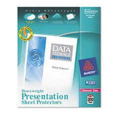 - Top-Load Poly Sheet Protectors, Heavy, Letter, Diamond Clear, 200/Box by MOT4