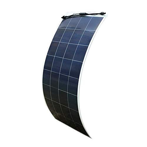 ECO-WORTHY 150 W 18 V flexibel ultraleicht Poly-PV-Solarpanel Photovoltaik für Boote Wohnmobil Auto Zelt oder andere unregelmäßige Oberflächen SolarModul