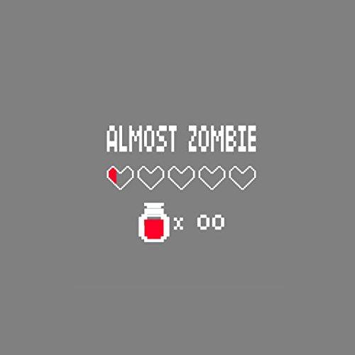 Almost Zombie - Stofftasche / Beutel Blau