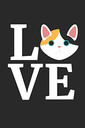 Japanese Bobtail Cat Notebook - I Love My Japanese Bobtail Cat Cat Lover Gift - Japanese Bobtail Cat Journal: Medium College-Ruled Journey Diary, 110 page, Lined, 6x9 (15.2 x 22.9 cm) - Journal Japanese