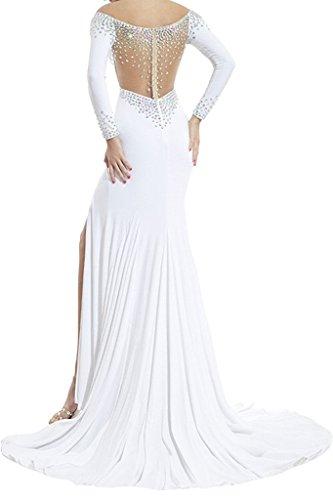 Toscana sposa Exquisit kraftool corifenidi stelle Chiffon un'ampia per una serata Party ball vestimento Violett