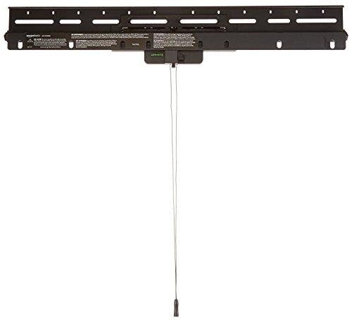 AmazonBasics - Bewegliche TV-Wandhalterung, Montage ohne Bolzen, für Fernseher mit einer Bildschirmdiagonale von 32-80 Zoll / 81,3-203,2cm