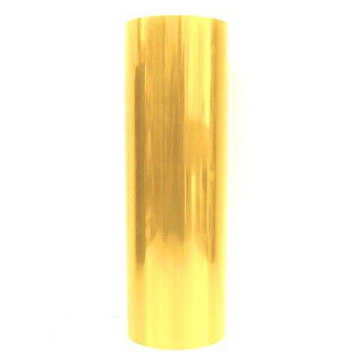 KLS Scheinwerfer Folie (30x100cm) von Finest-Folia Tönungsfolien Tint Rückleuchten Nebelscheinwerfer (KLS87 Gelb Glänzend)