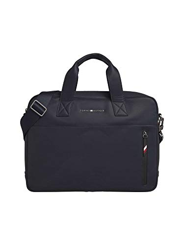 Tommy Hilfiger Essential Pique Computer Bag, Sacs...