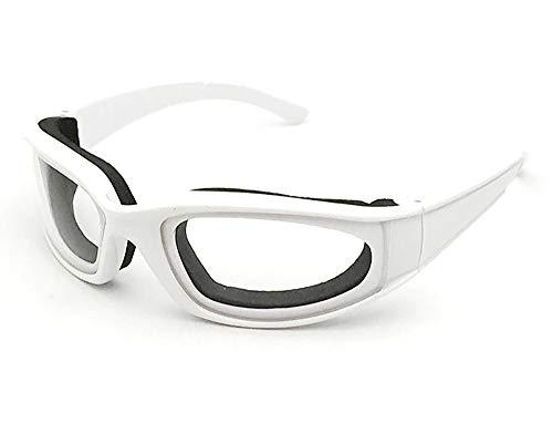 Schwamm Kostüm Körper - Navisli Schneidbrille, Schwamm, Anti-Stimulation, Polycarbonat, langlebig, winddicht, Küchenbrille As picture shows weiß
