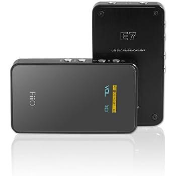 E7 USB DAC Headphone Amplifier: Amazon.fr: Lecteurs MP3