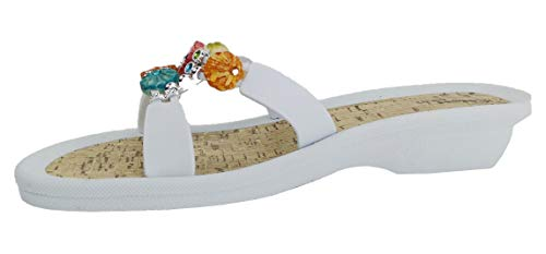 Linea Scarpa Pantolette Hydra Badeschuh Damen mit Absatz: Größe: 42 EU | Farbe: Weiss