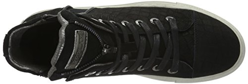 Replay Lulay, Baskets Basses Femme Noir - Schwarz (Black 3)