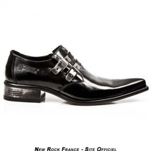 New Rock Men's Newman Leather Shoes M.2246-S10