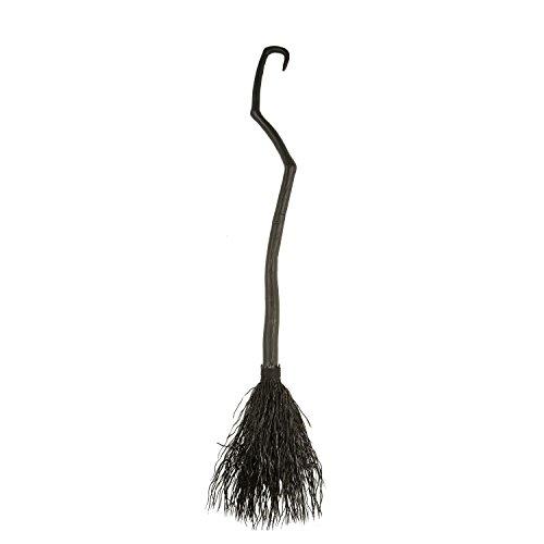 Viving Costumes Black Witch Broom  130 cm