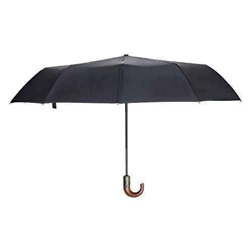 Wascoo Umbrella Folding Man Öffnen und Schließen Automatischer Mini-Regenschirm Kompakt Winddicht und Leichtgewichtige Frau, Mann, Kinder