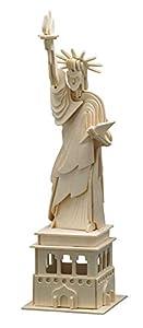 Siva Toys Siva Toys882 - Estatua de la Libertad (Madera), Multicolor