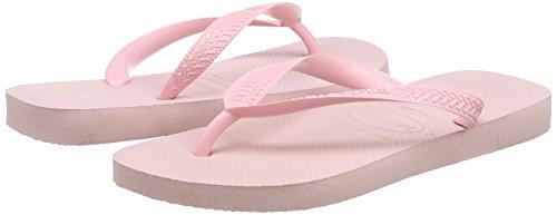 Top Tongs Femme - Rose (Pearl Pink 6615), 37/38 EU ( 35/36 Brazilian)Havaianas