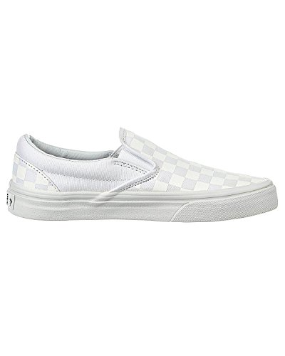 Vans VZMRFJH, Unisex Adults' Low-Top Sneakers, White (Checkerboard True White), 2.5 UK (34.5 EU)