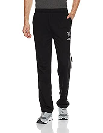Jockey Men's Cotton Track Pants (9508-0103-BLACK Black S)
