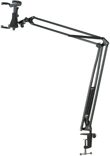 """Preisvergleich Produktbild Callstel Universal Tablet Ständer Pro-Tablet-Halterung bis 12,9""""/13"""" mit Schwenkarm zur Tisch-Montage"""